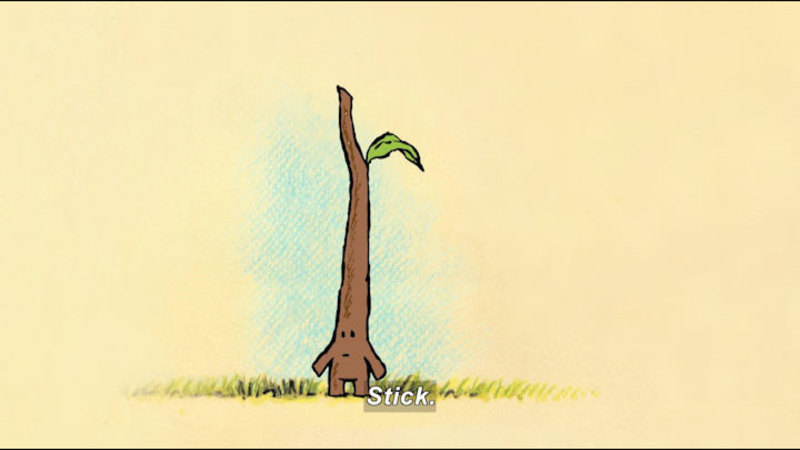 Still image from: Stick And Stone