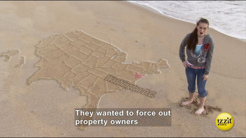Still image from: Unintended Consequences: Eminent Domain
