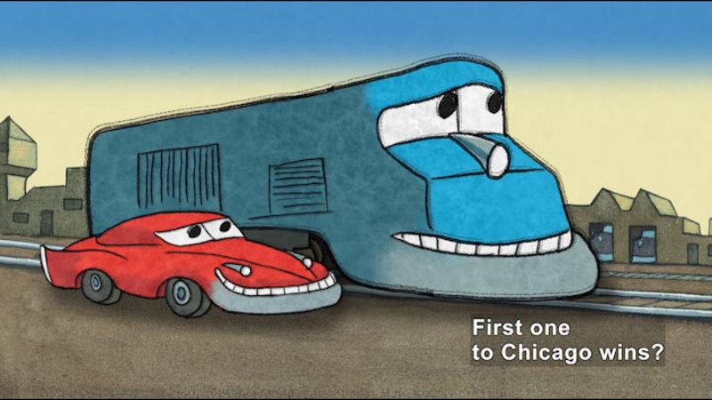 Still image from: I'm Fast!