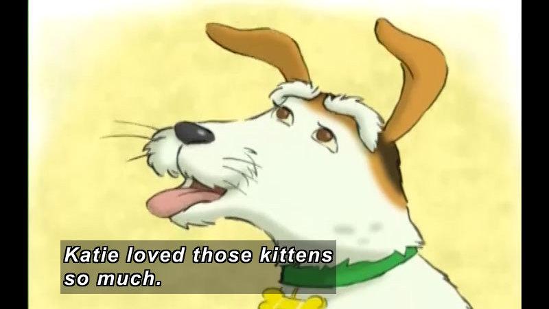 Still image from: Katie Loves the Kittens