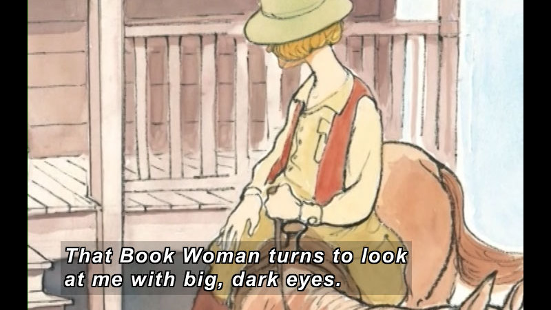 Still image from: That Book Woman