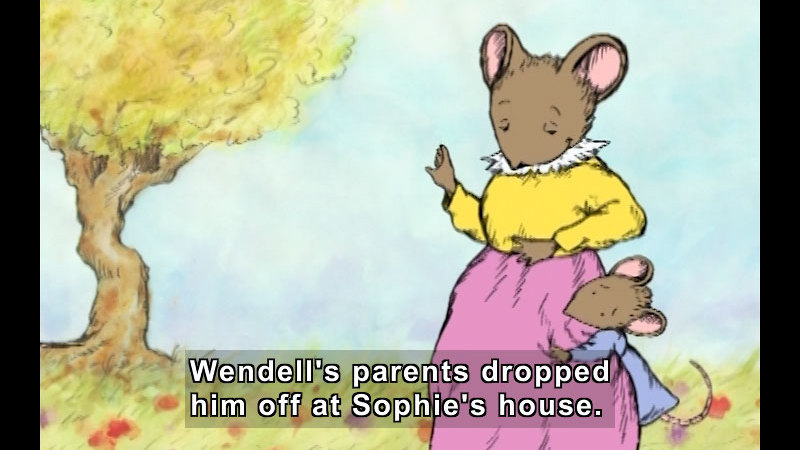 Still image from: A Weekend With Wendell