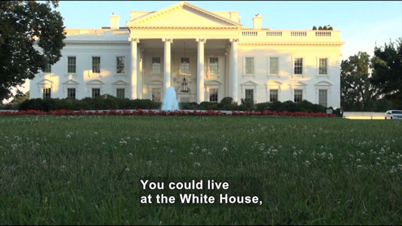 Still image from: Exploring Our Nation: How to Become a President of the United States
