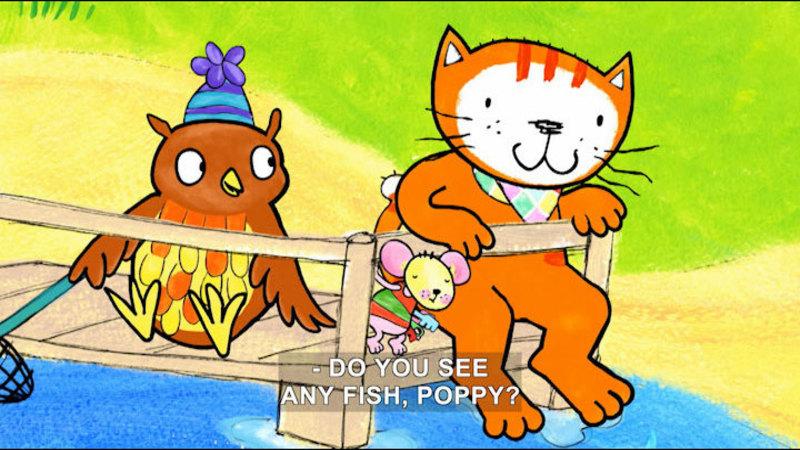 Still image from Poppy Cat: Missing Keys/Going Coconuts