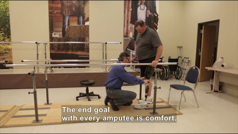 Still image from: Career Connections: Prosthetist (WillowWood)