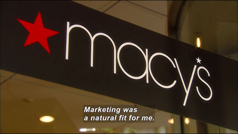 Still image from: Career Connections: Marketing Specialist