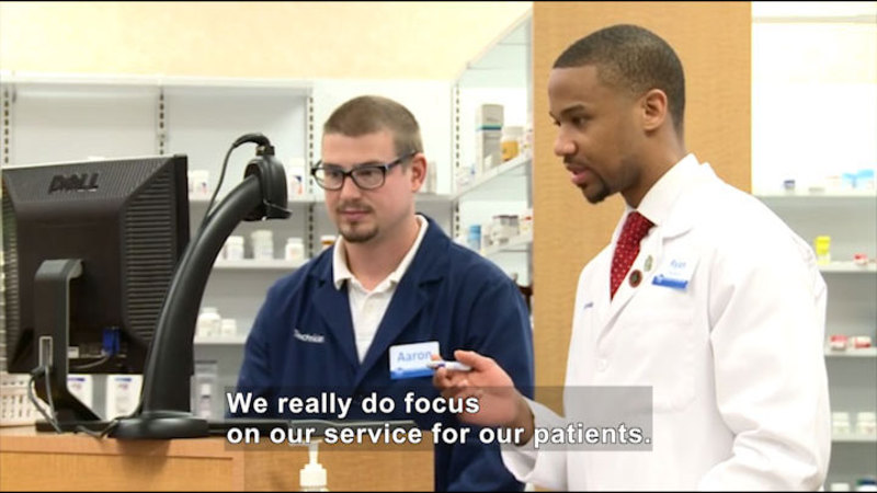 Still image from: Career Connections: Pharmacist