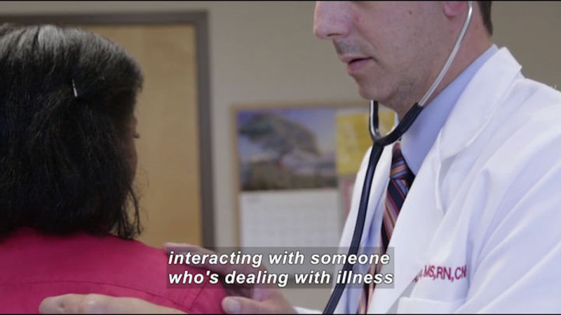 Still image from: Career Connections: Nurse Practitioner