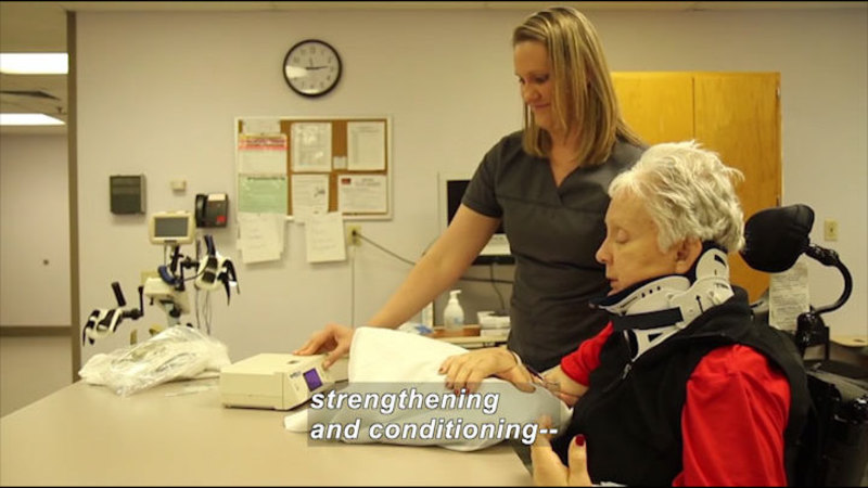 Still image from Career Connections: Occupational Therapist