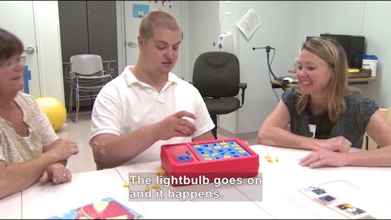 Still image from Career Connections: Speech Therapist