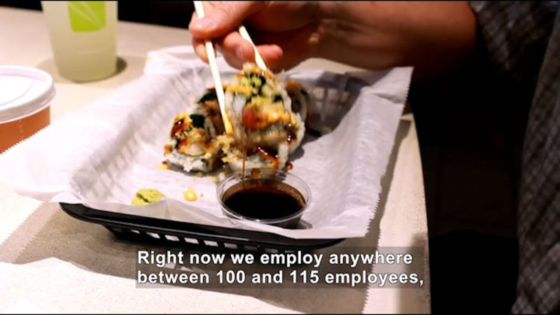 Still image from: Career Connections: Restaurant Entrepreneur