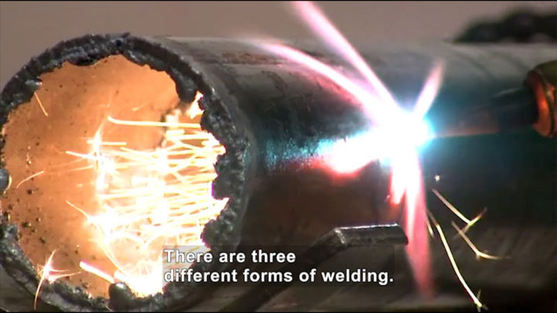 Still image from: Career Connections: Welding