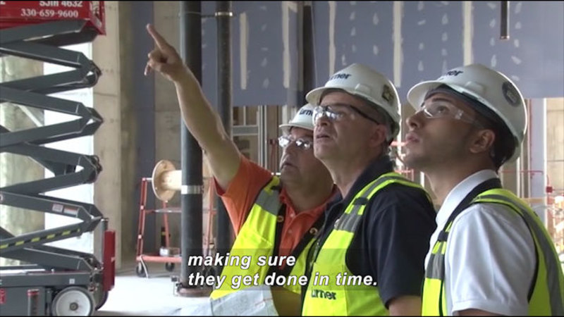 Still image from Career Connections: Construction Manager