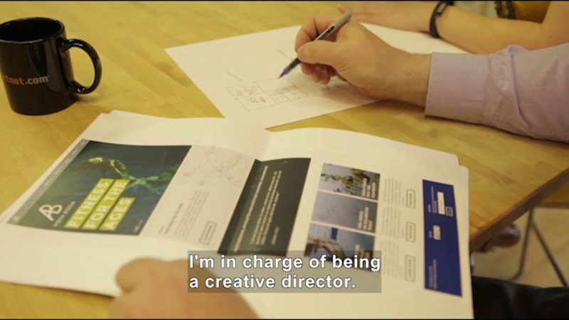 Still image from Career Connections: Advertising Director
