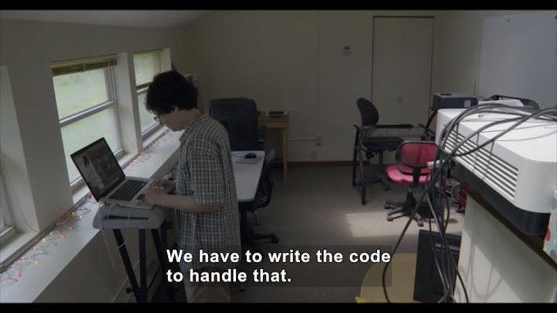 Still image from: Career Connections: Software Developer (Kosada)