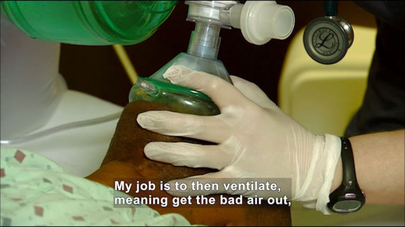 Still image from Career Connections: Respiratory Care Therapist