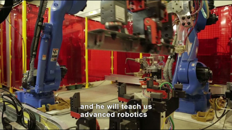 Still image from: Career Connections: Advanced Manufacturing Engineer