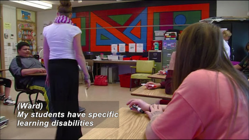 Still image from Career Connections: Special Education Teachers