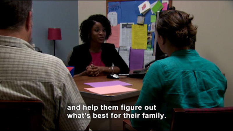 Still image from Career Connections: Admission and Financial Aid Counselor