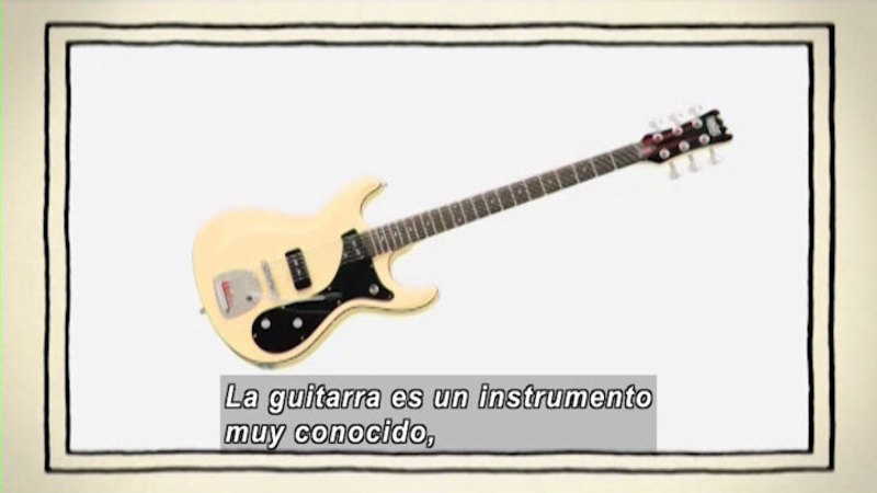 Still image from The Shape of the World: Music (Spanish)