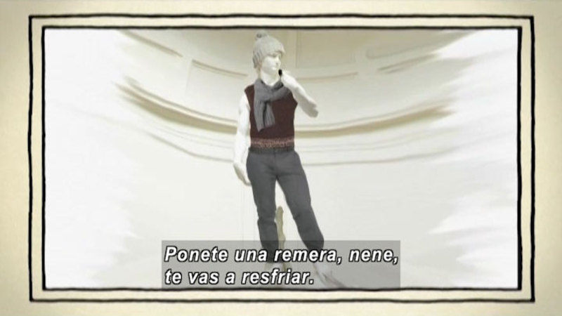 Still image from The Shape of the World: Clothing (Spanish)