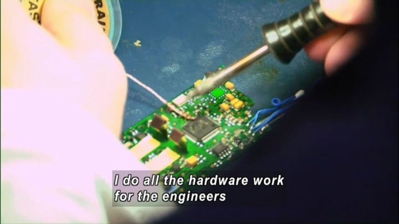Still image from: Advanced Manufacturing and Applied Engineering Technology: STEM Careers in Two Years